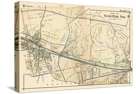 1912, Paoli - Tredyffrin Township, Pennsylvania, United States--Stretched Canvas Print