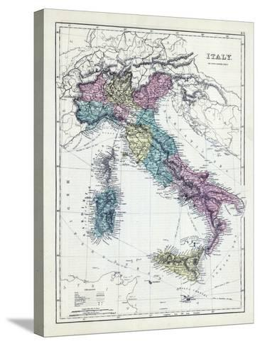 1873, Italy--Stretched Canvas Print