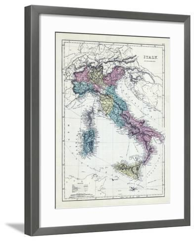 1873, Italy--Framed Art Print