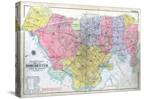 1918, Boston, Dorchester, Massachusetts, United States--Stretched Canvas Print