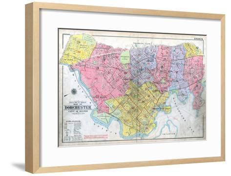1918, Boston, Dorchester, Massachusetts, United States--Framed Art Print