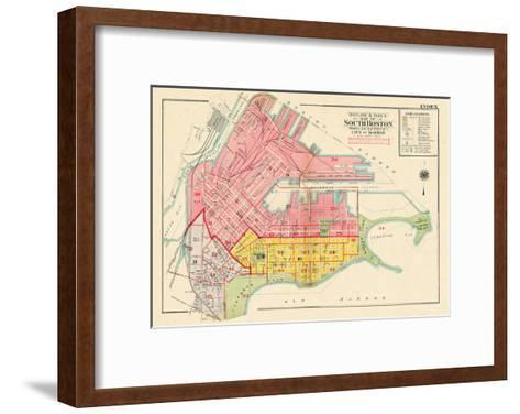 1919, Boston, South Boston, Massachusetts, United States--Framed Art Print
