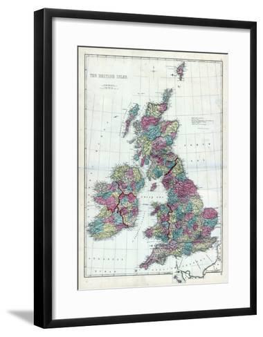 1873, The British Isles, England--Framed Art Print