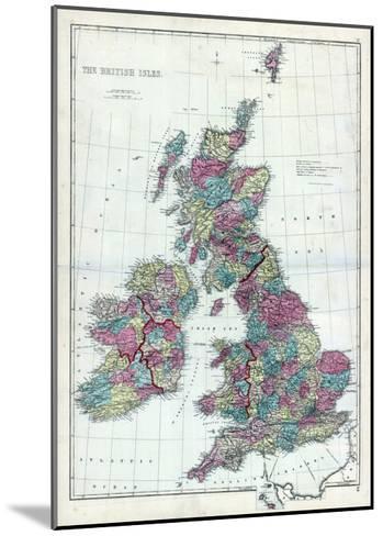 1873, The British Isles, England--Mounted Giclee Print