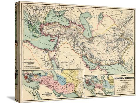 1898, 500 BC, Egypt, Libya, Armenia, Iran, Iraq, Saudi Arabia, Syria, Turkey, Jordan--Stretched Canvas Print