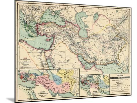 1898, 500 BC, Egypt, Libya, Armenia, Iran, Iraq, Saudi Arabia, Syria, Turkey, Jordan--Mounted Giclee Print