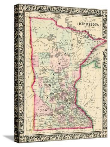 1864, United States, Minnesota, North America, Minnesota--Stretched Canvas Print