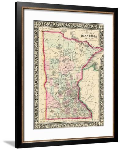 1864, United States, Minnesota, North America, Minnesota--Framed Art Print