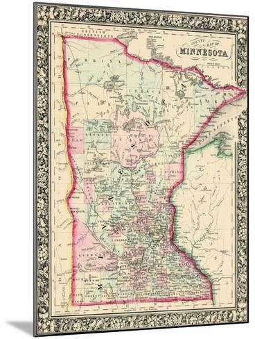 1864, United States, Minnesota, North America, Minnesota--Mounted Giclee Print