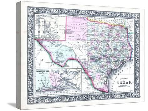 1864, United States, Texas, North America--Stretched Canvas Print