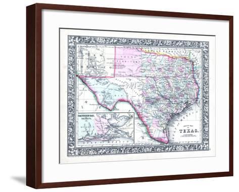 1864, United States, Texas, North America--Framed Art Print