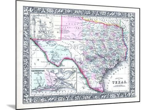 1864, United States, Texas, North America--Mounted Giclee Print