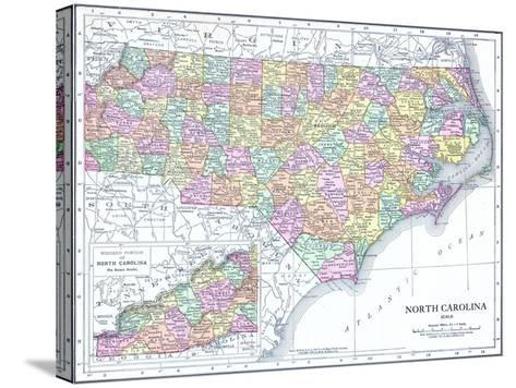 1913, United States, North Carolina, North America, North Carolina--Stretched Canvas Print