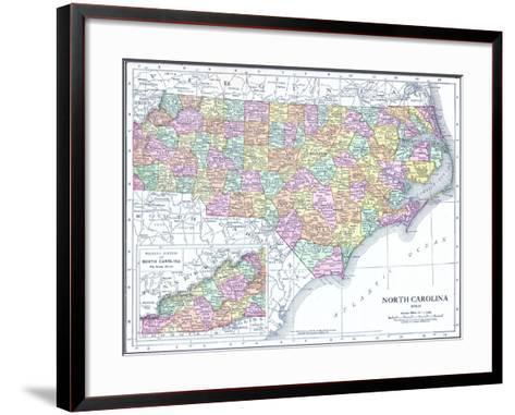 1913, United States, North Carolina, North America, North Carolina--Framed Art Print