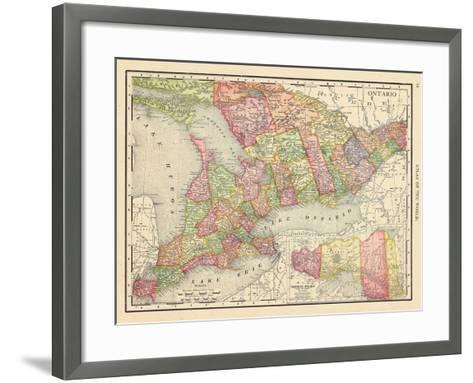 1913, Canada, Ontario, North America, Ontario--Framed Art Print