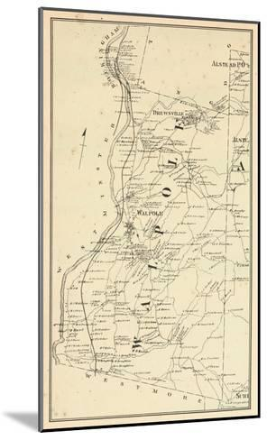 1877, Walpole Township, Alsted, Drewsville, New Hampshire, United States--Mounted Giclee Print