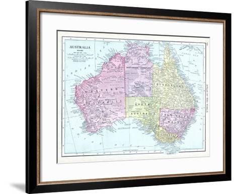 1913, Australia, Oceania--Framed Art Print