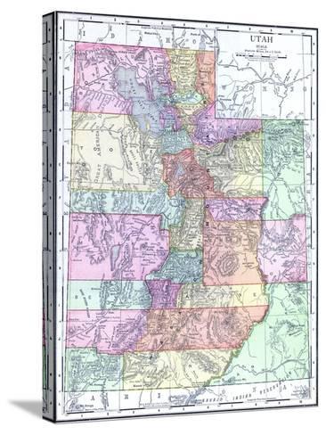 1913, United States, Utah, North America--Stretched Canvas Print