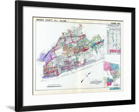 1936, Bergen County, New Jersey, United States--Framed Art Print