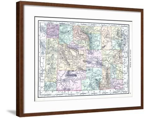 1913, United States, Wyoming, North America--Framed Art Print