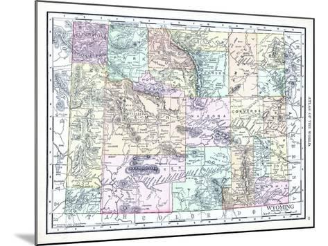 1913, United States, Wyoming, North America--Mounted Giclee Print