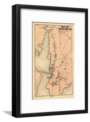 1871, Dartmouth South, South Dartmouth, Massachusetts, United States--Framed Art Print