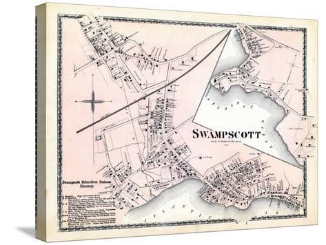 1872, Swampscott Center, Massachusetts, United States--Stretched Canvas Print