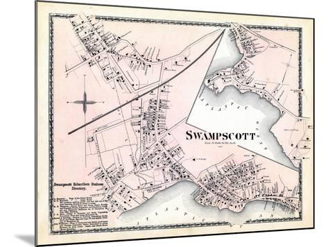 1872, Swampscott Center, Massachusetts, United States--Mounted Giclee Print