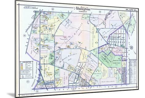 1916, Abington Township, Rydal Sta., Rockledge, Pennsylvania, United States--Mounted Giclee Print