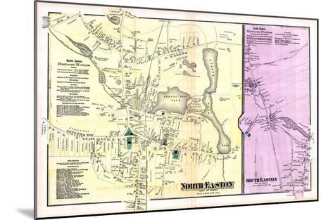 1871, Easton Town North, North Easton Town, South Easton Town, Massachusetts, United States--Mounted Giclee Print