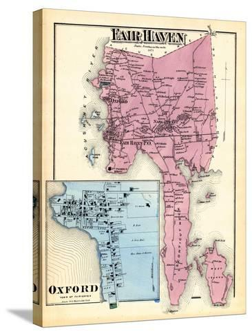 1871, Fair Haven, Oxford Town, Massachusetts, United States--Stretched Canvas Print