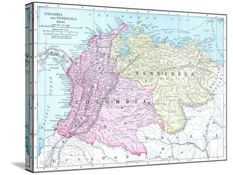 1913, Brazil, Columbia, Ecuador, Venezuela, South America--Stretched Canvas Print