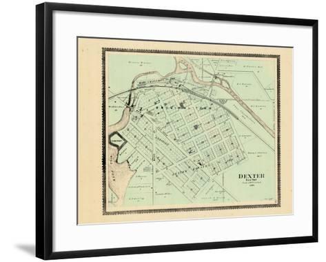 1895, Dexter, Michigan, United States--Framed Art Print