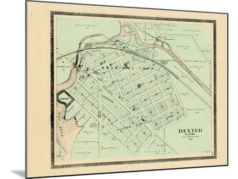 1895, Dexter, Michigan, United States--Mounted Giclee Print