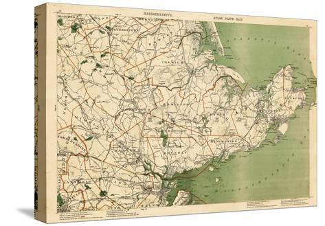 1891, Essex, Boxford, Rowley, Cape Ann, Gloucester, Rockport, Marblehead, Salem, Massachusetts--Stretched Canvas Print