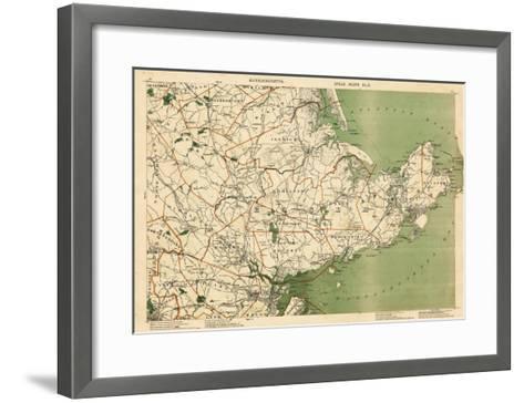 1891, Essex, Boxford, Rowley, Cape Ann, Gloucester, Rockport, Marblehead, Salem, Massachusetts--Framed Art Print