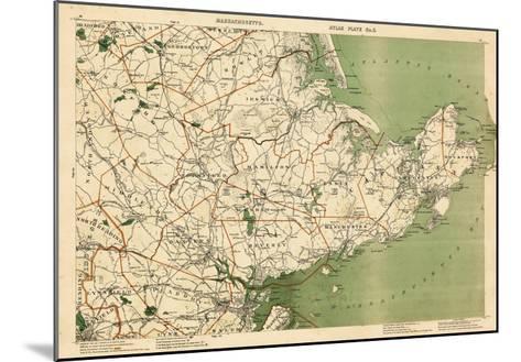 1891, Essex, Boxford, Rowley, Cape Ann, Gloucester, Rockport, Marblehead, Salem, Massachusetts--Mounted Giclee Print