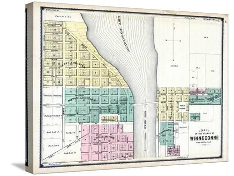 1889, Winneconne, Wisconsin, United States--Stretched Canvas Print