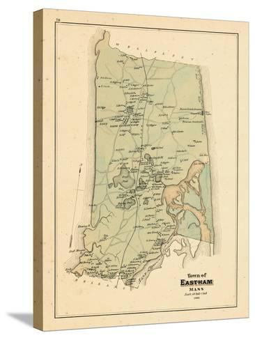 1880, Eastham Town, Massachusetts, United States--Stretched Canvas Print
