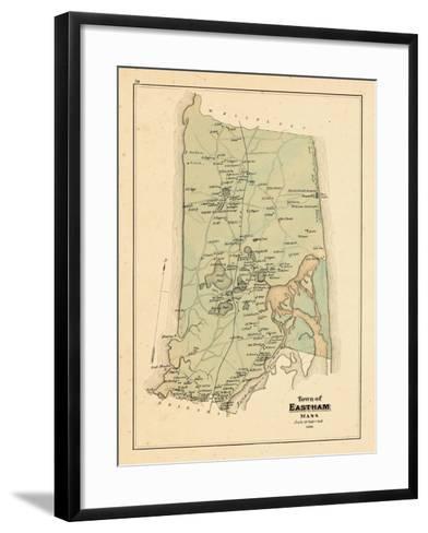 1880, Eastham Town, Massachusetts, United States--Framed Art Print