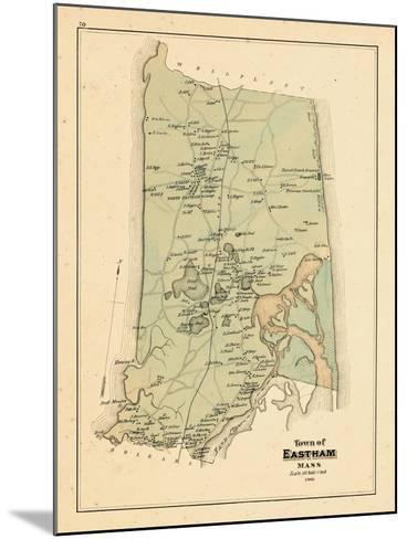 1880, Eastham Town, Massachusetts, United States--Mounted Giclee Print