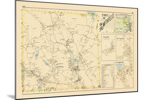 1895, Smithfield, Enfield, Greenville, Georgiaville, Rhode Island, United States--Mounted Giclee Print