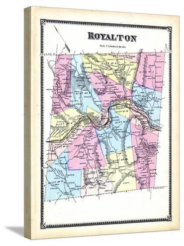 1869, Royalton, Vermont, United States--Stretched Canvas Print