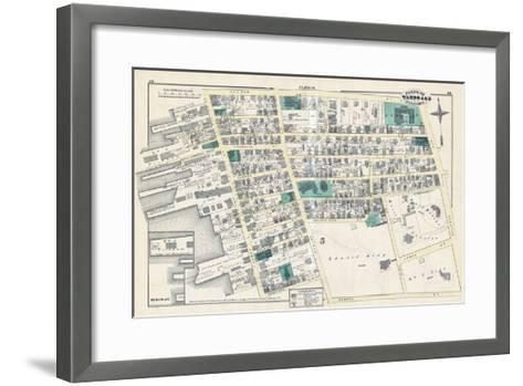 1876, Newport, Rhode Island, United States--Framed Art Print