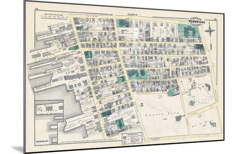 1876, Newport, Rhode Island, United States--Mounted Giclee Print