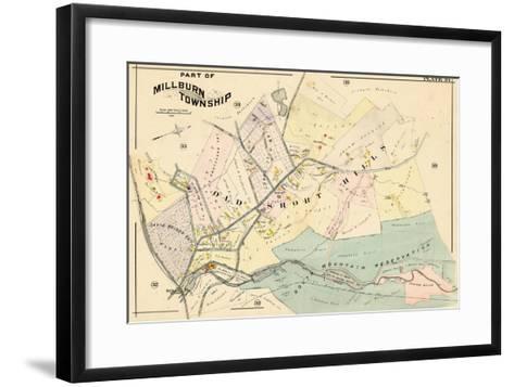 1906, Millburn, New Jersey, United States--Framed Art Print