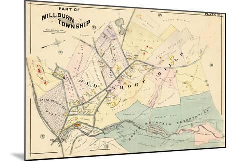 1906, Millburn, New Jersey, United States--Mounted Giclee Print