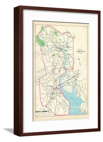 1893, Norwalk Borough, South Norwalk City, Connecticut, United States--Framed Art Print
