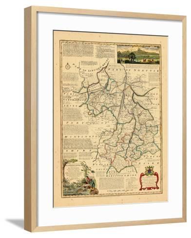 1762, Cambridgeshire, United Kingdom--Framed Art Print