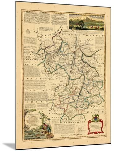 1762, Cambridgeshire, United Kingdom--Mounted Giclee Print